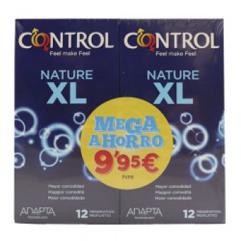 control-pack-nature-xl-2x12-unidades