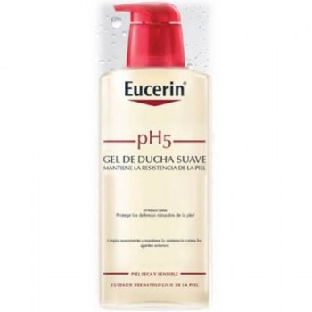 eucerin ph5 gel de ducha suave 400 ml